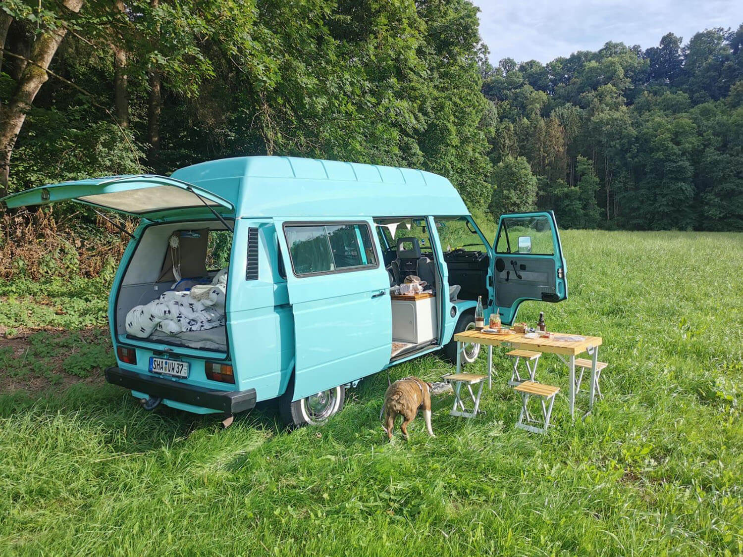 Camping in Hohenlohe