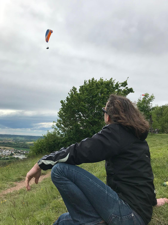 Drachenfliegen am Einkorn