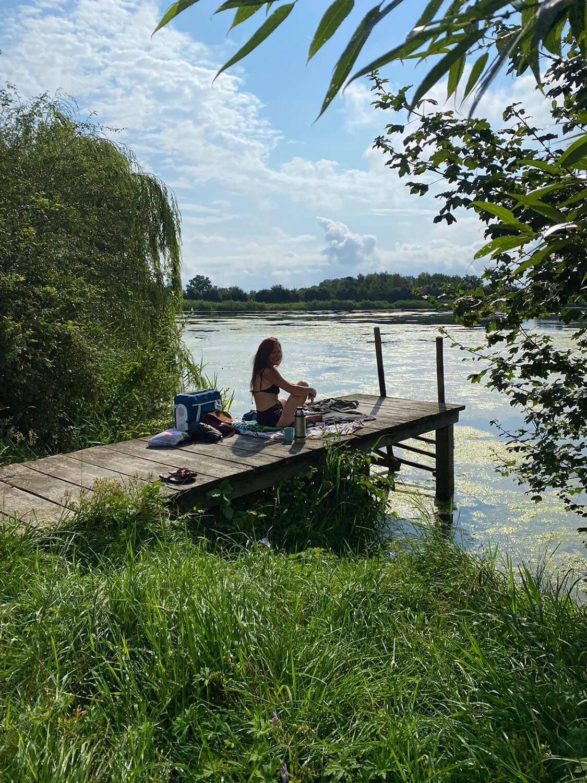 Steg am Starkholzbacher See